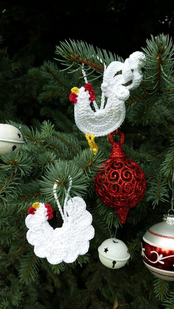 The Rooster And The Hen Crochet Christmas Gifts In A Weekend