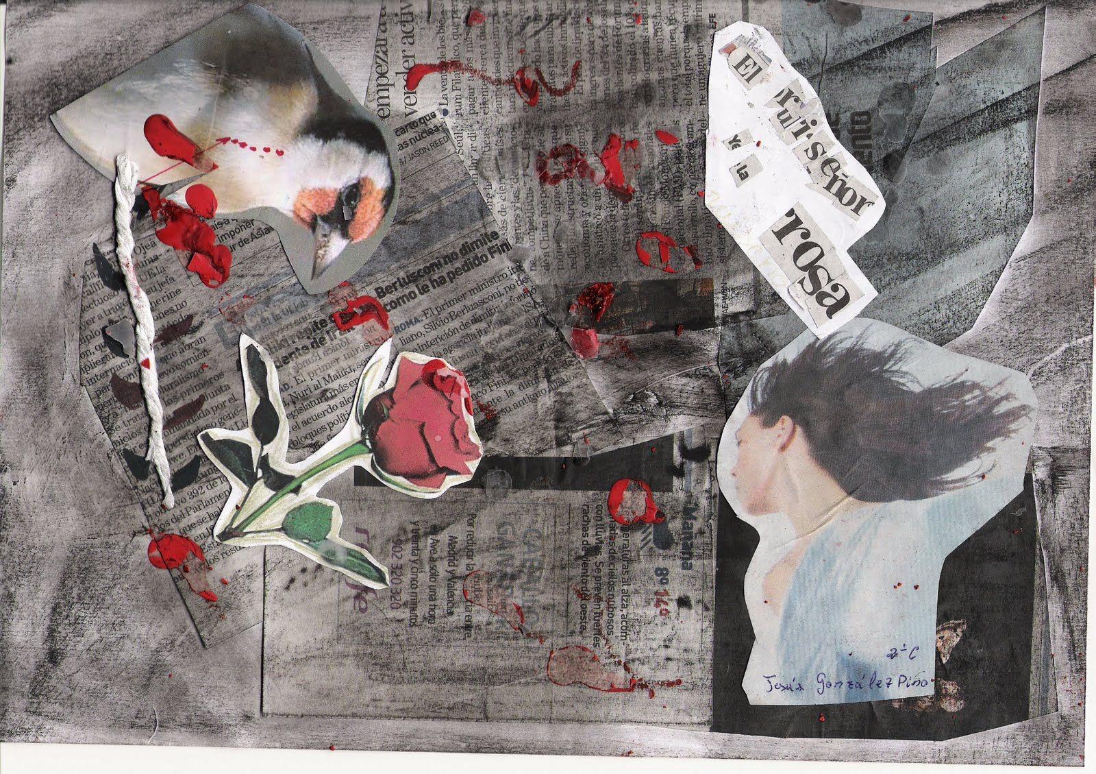 """""""-Ella me prometió que bailaría conmigo si le llevaba rosas rojas -murmuró el Estudiante-; pero en todo el jardín no queda ni una sola rosa roja.    El Ruiseñor le estaba escuchando desde su nido en la encina, y lo miraba a través de las hojas; al oír esto último, se sintió asombrado."""" El Ruiseñor y la Rosa; Oscar Wilde #DLIJ por @Javi_Mtnz"""