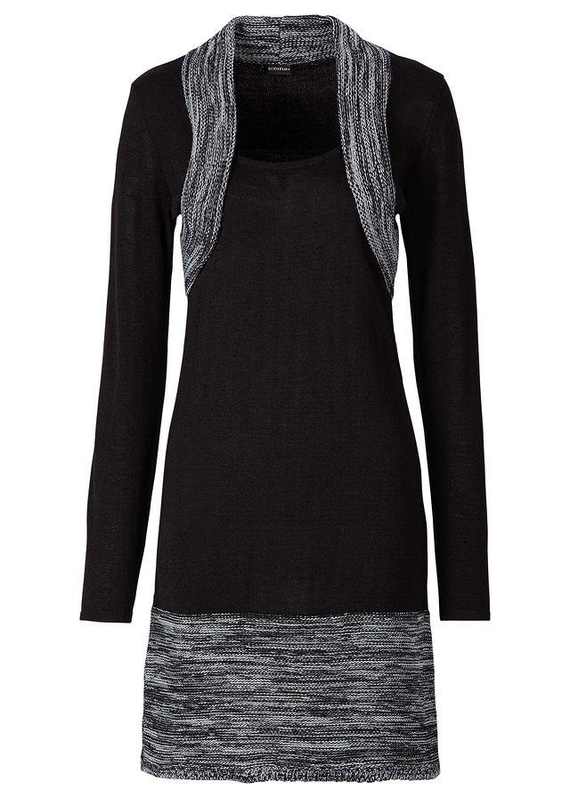 Úpletové šaty Ženské úpletové šaty s • 24.99 € • bonprix  8068b8de12e
