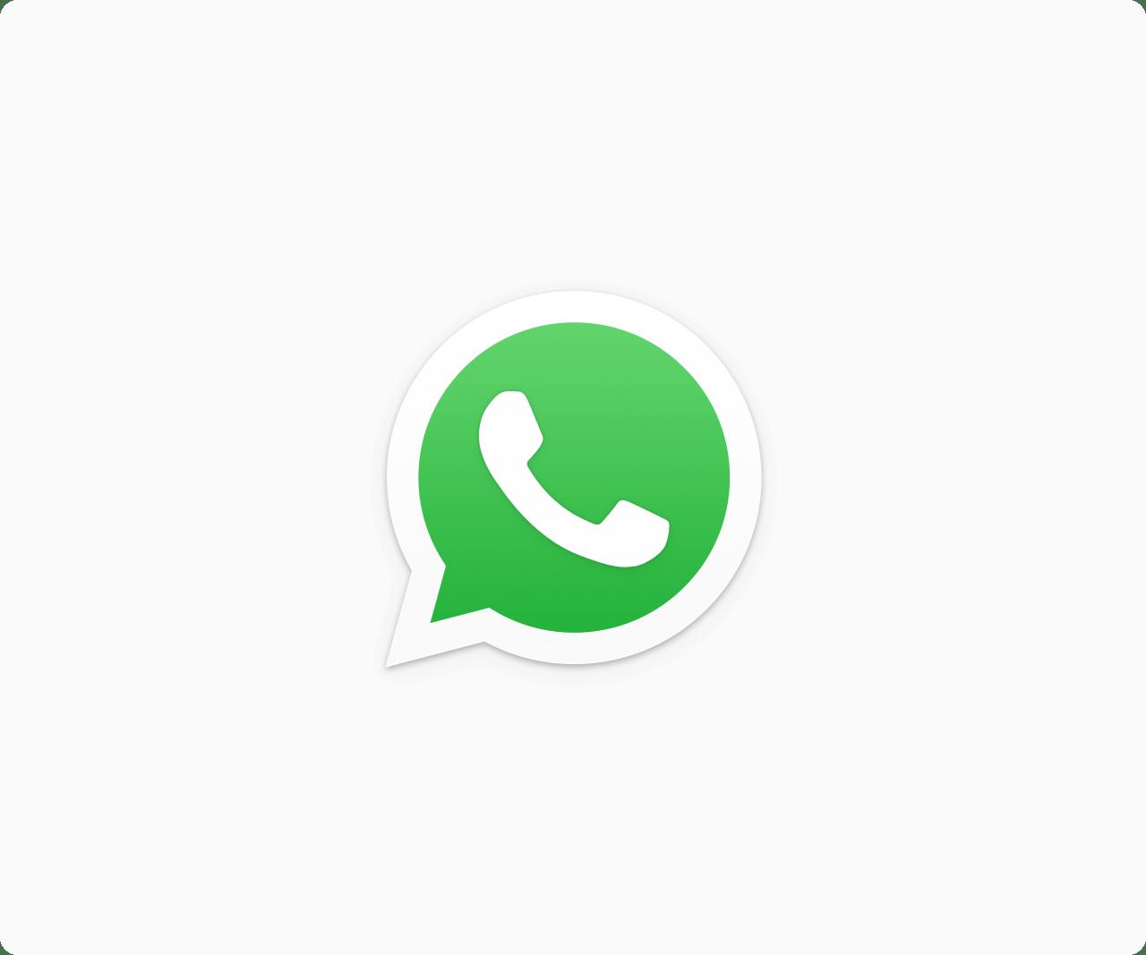 Logo do WhatsApp PNG [Fundo Transparente e com Fundo