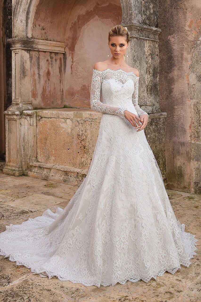 Wedding Gown Gallery  Hochzeitskleider spitze, Brautmode, Kleid