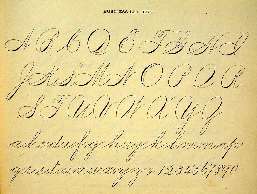 victorian typography caligraphy penmanship folk art ornament letter hand writing lettering. Black Bedroom Furniture Sets. Home Design Ideas