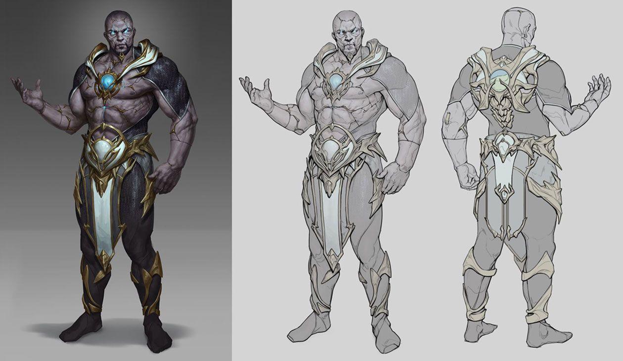 Geras Concept Art From Mortal Kombat 11 Art Artwork Gaming