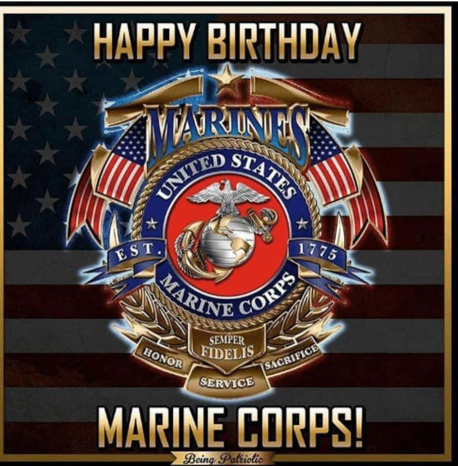 Pin by Stacy Harris on Marine Happy birthday marines