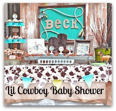 Cowboy Baby Shower Theme Party Party Themes Cowboy Baby Shower