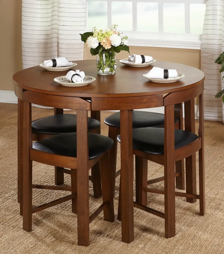 Twenty Dining Tables That Work Great In Small Spaces In 2020 Small Dining Room Table Dining Room Table Set Kitchen Table Settings