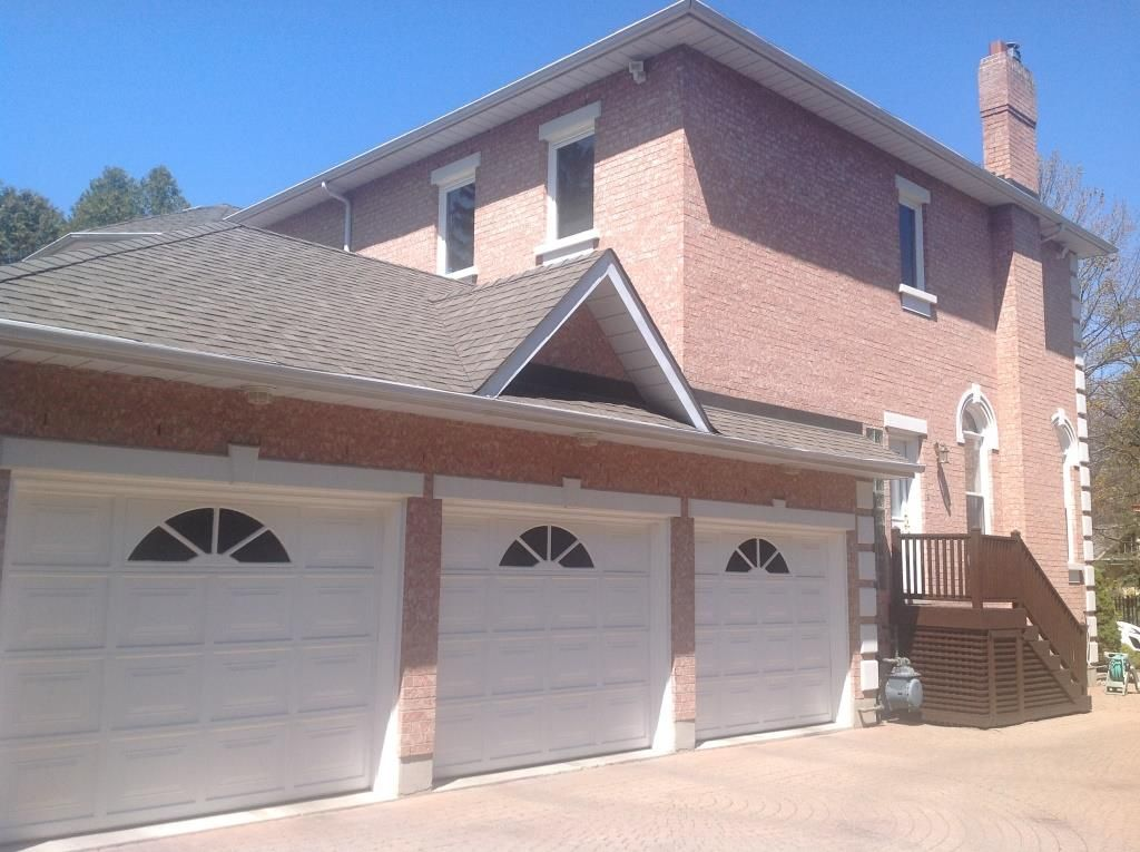 garage doors repainted via toronto s exterior painting carpenters