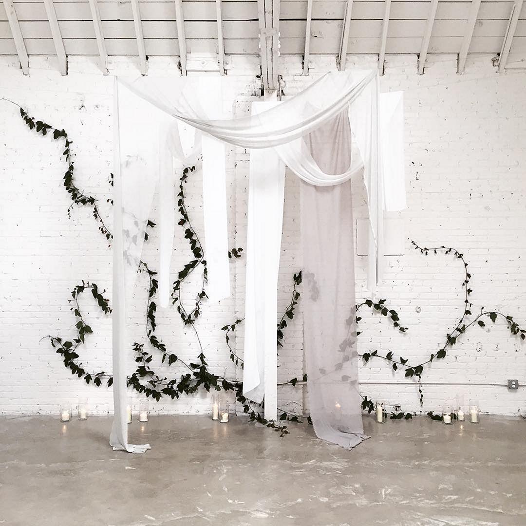 Beautiful Indoor Wedding Ceremony