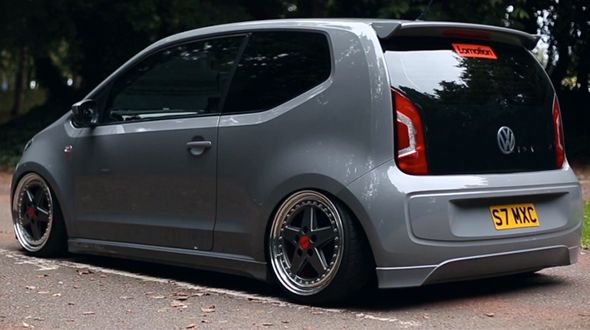 Stanced Modfied Vw Up Vw Up Volkswagen Up Vw Cars