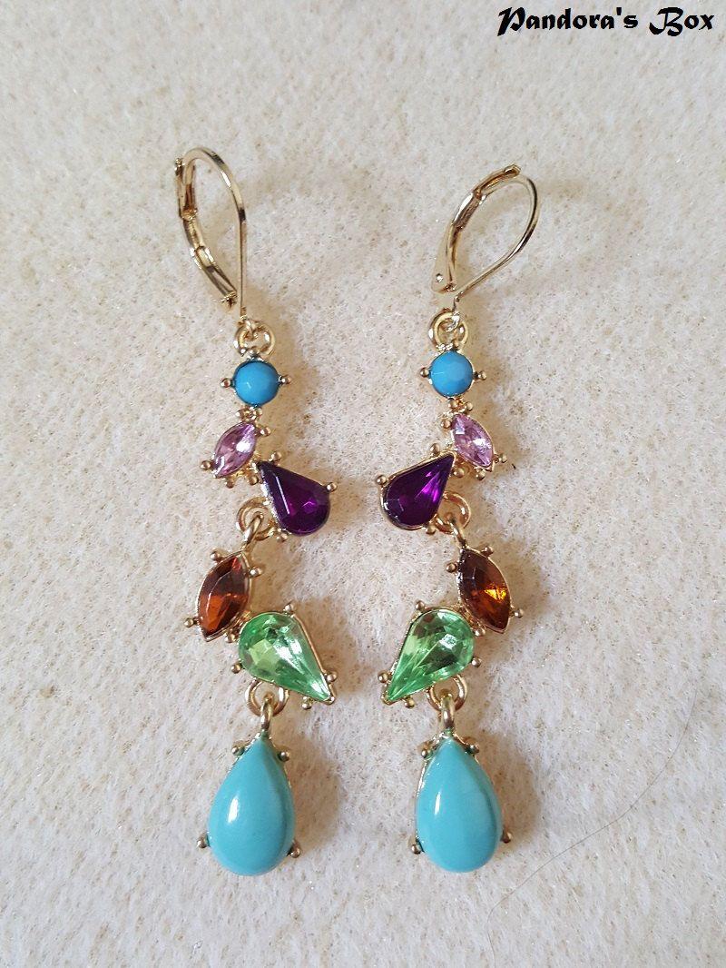 Colorful chandelier earrings dangle earrings crystal multicolor colorful chandelier earrings dangle earrings crystal multicolor earrings vintage fashion women earrings arubaitofo Images