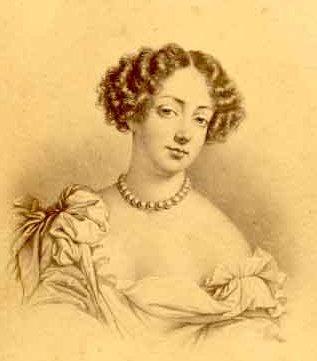 Mademoiselle De Fontanges Louis Xiv Angelique Mademoiselle