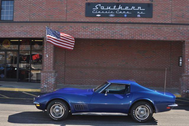 1972 Corvette - Southern Classic Cars, NC