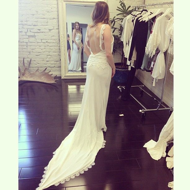 Stone Cold Fox - Wedding Dress- Flores Style Email to order: orders ...