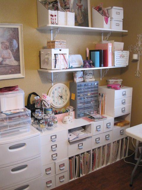 Cherished Treasures Reorganizing My Scrapbook Room Craft Spaces