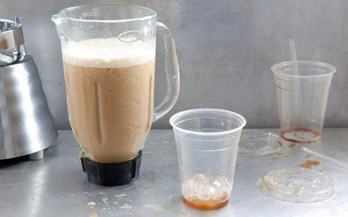 Vietnamese blended iced coffee