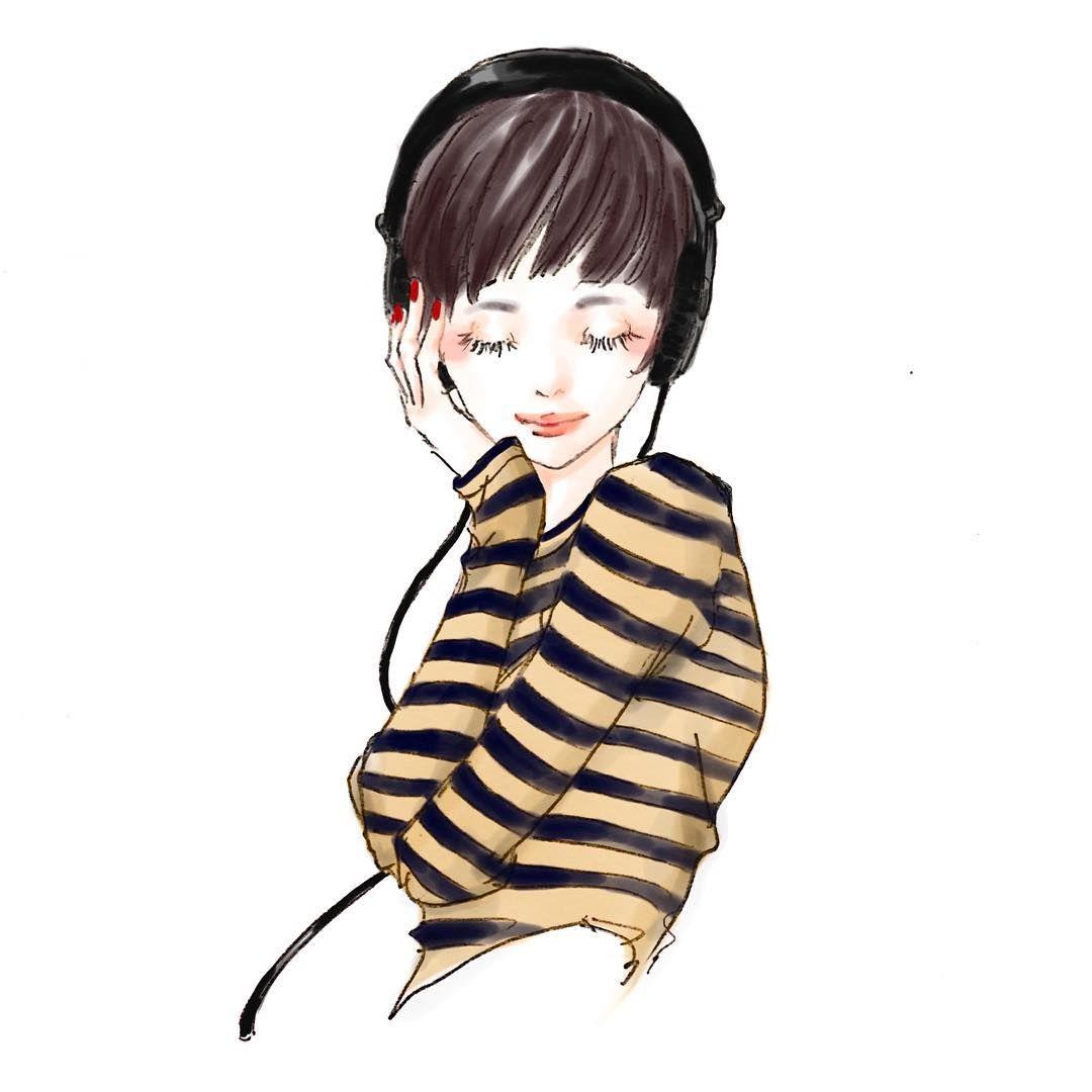 ヘアスタイル ルージュ ゴルジュワンレンショートヘアイエロー アニメの毛 簡単スケッチ 髪のイラスト