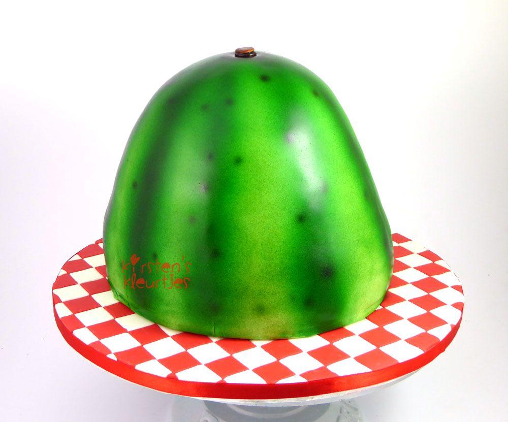 Watermelon Cake / Watermeloentaart