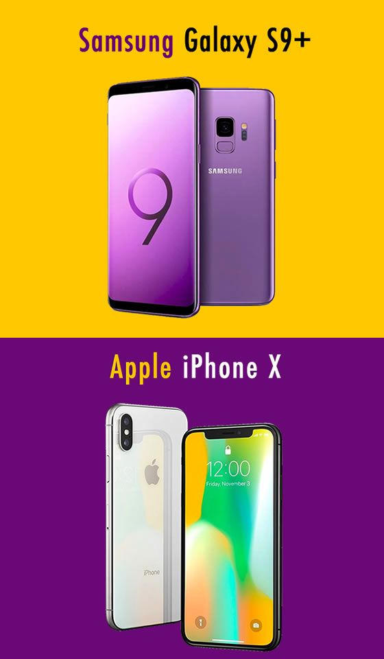 Samsung Galaxy S9 or Apple iPhone X – which is the better ...