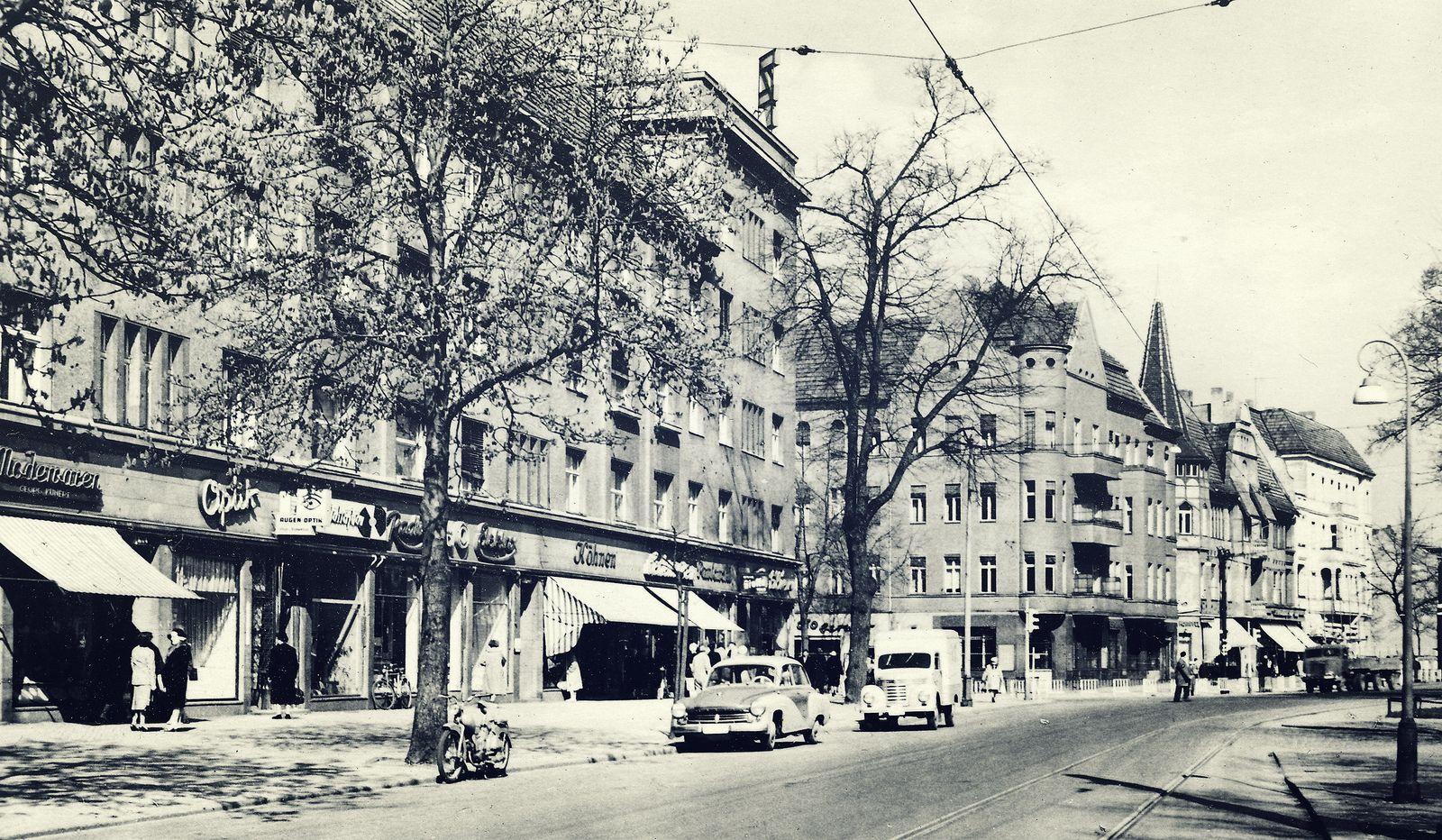 Berlin Pankow Breite Strasse 1963 Berlin Pankow West Berlin