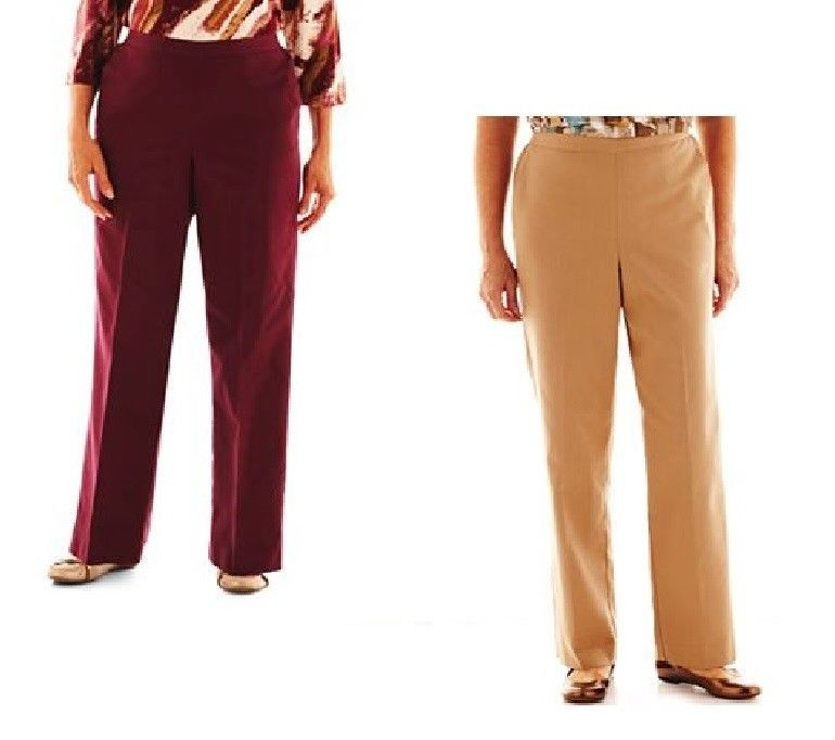 Alfred Dunner Circle Oaks Pull On Pants women's sizes 8 10 12 6P 12P 14P NEW 19.99 FREE Standard Shipping http://www.ebay.com/itm/Alfred-Dunner-Circle-Oaks-Pull-Pants-womens-sizes-8-10-12-6P-12P-14P-18W-NEW-/331161188098?pt=US_CSA_WC_Pants&var=&hash=item7dd00cc0e8