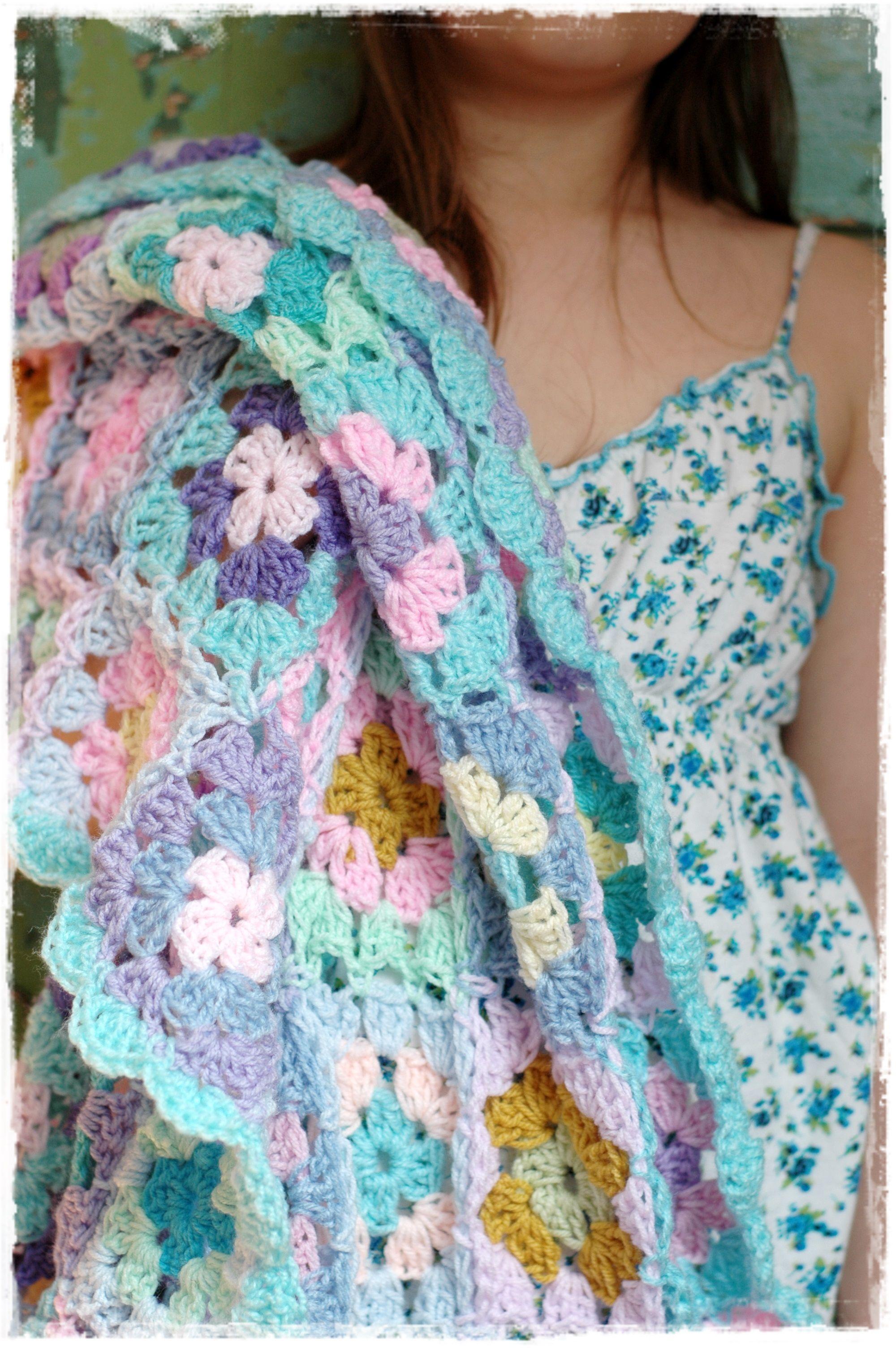 crochet granny square blanket afghan | my crochet | Pinterest ...