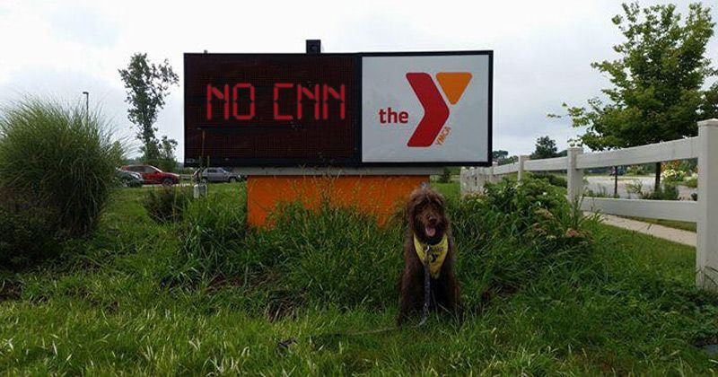 YMCA Bans CNN From Workout Room TVs Over 'Fake News'…