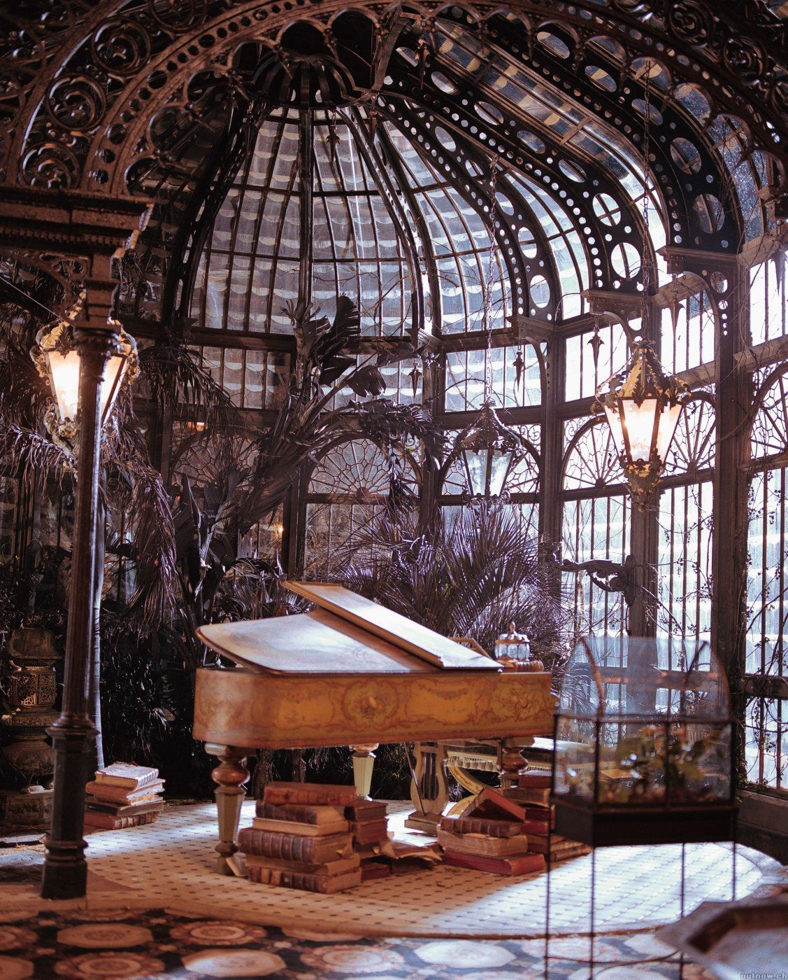 Cool Steampunk Bedroom Interior Decorating Design Ideas Mansion - Cool rooms and interior design ideas