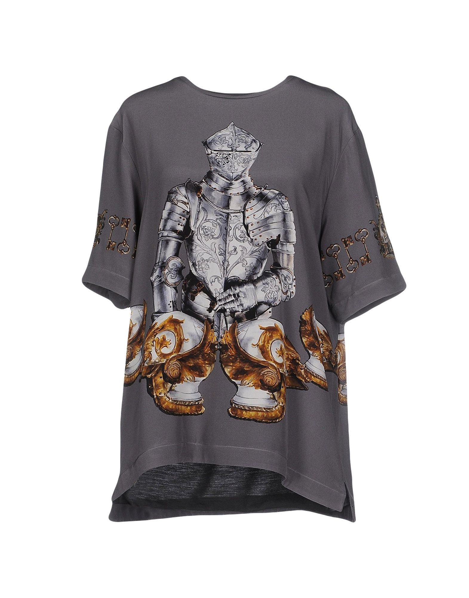 Dolce & gabbana Blouse in Gray (Lead)