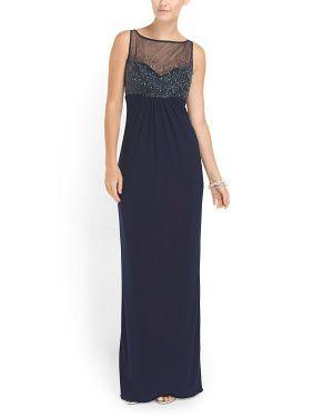 a7e3ae1ab2c Jersey Illusion Top Gown. TJ Maxx