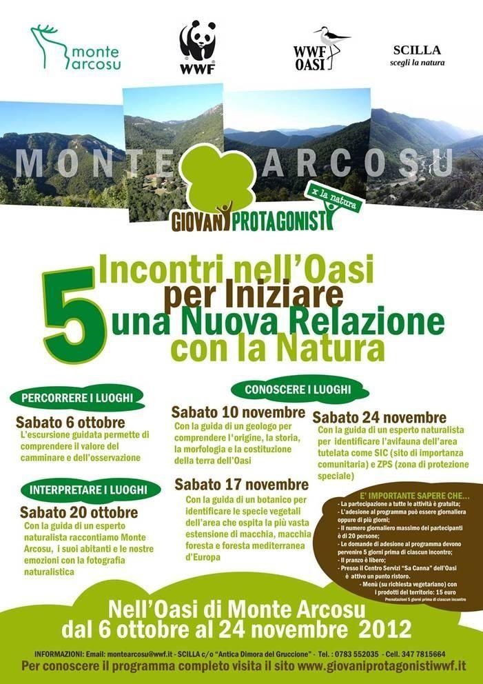 Giovani protagonisti, incontri nell'oasi per iniziare una nuova relazione con la natura.  20 ottobre 2012 ore 09.00 / Uta » Oasi WWF