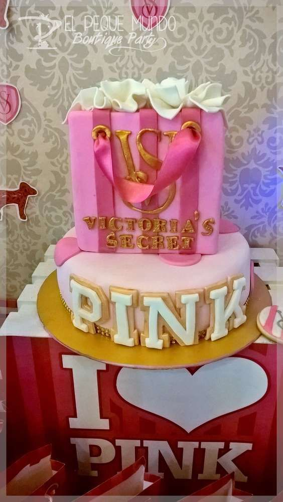 Victoria Secret Birthday Party Ideas Pink Party Pinterest