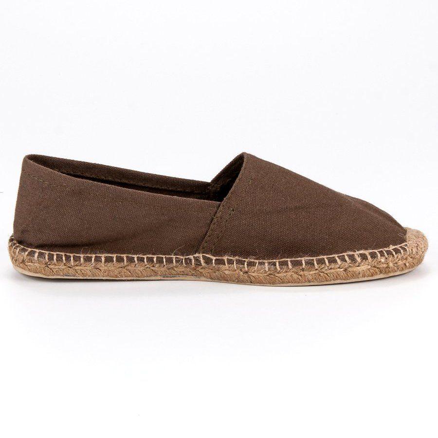 Brazowe Espadryle Wielokolorowe Espadrilles Shoes Fashion