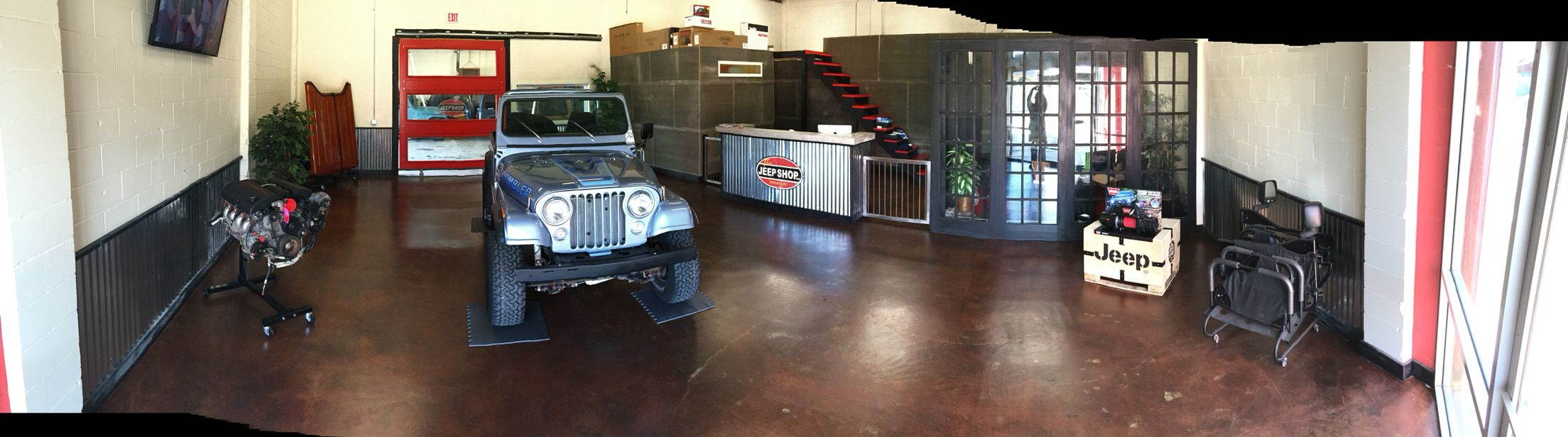 Jeepshopusa Welcome To Our New Showroom In Jacksonville Florida Jeep Shop Shop Usa Jacksonville Florida