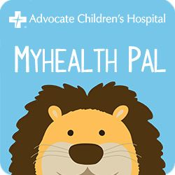 MyHealth Pal, an app from Advocate Children's Hospital for #iPhone and #Android designed to help parents and kids identify symptoms of minor illnesses and injuries.