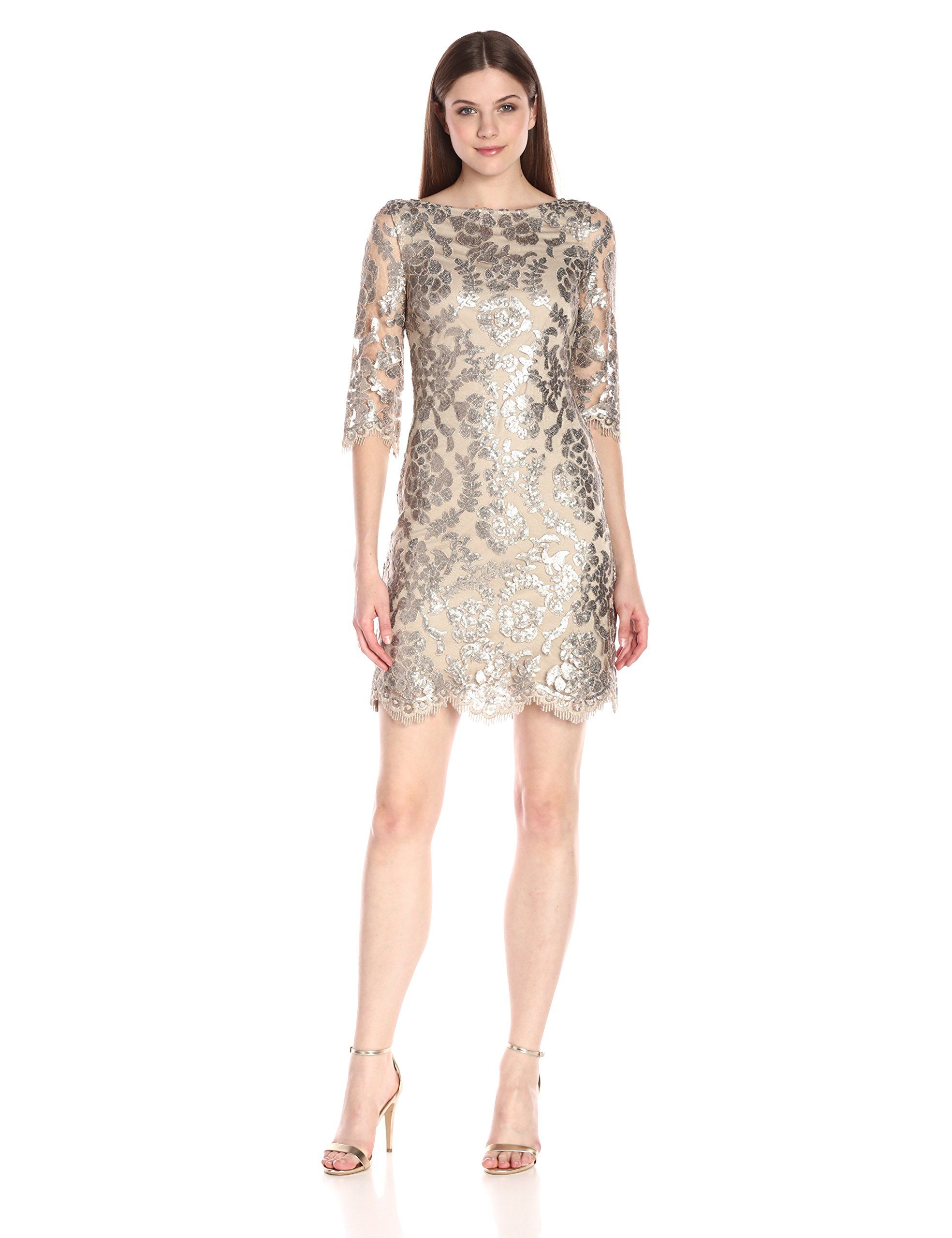 Robot Check | Lace dress with sleeves, Womens cocktail ...