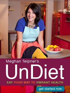 Undiet your way to vibrant health! Whole food, amazing recipes, oodles of tips and information! Meghan Telpner is awesome! #undiet #wholefood #nutrition #health #loseweight