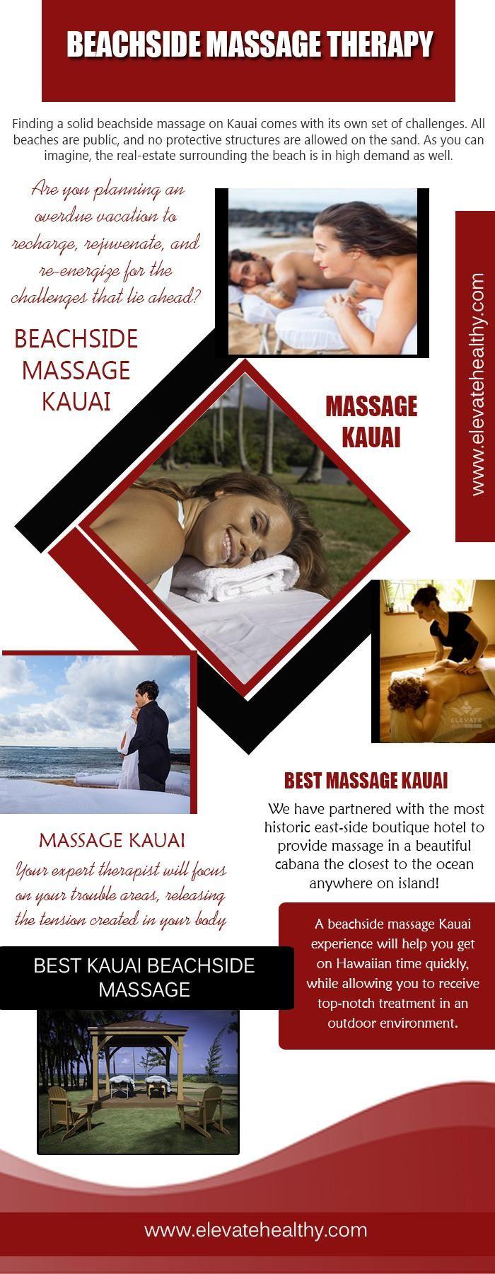 Best Kauai Beachside Massage | Social media network ...