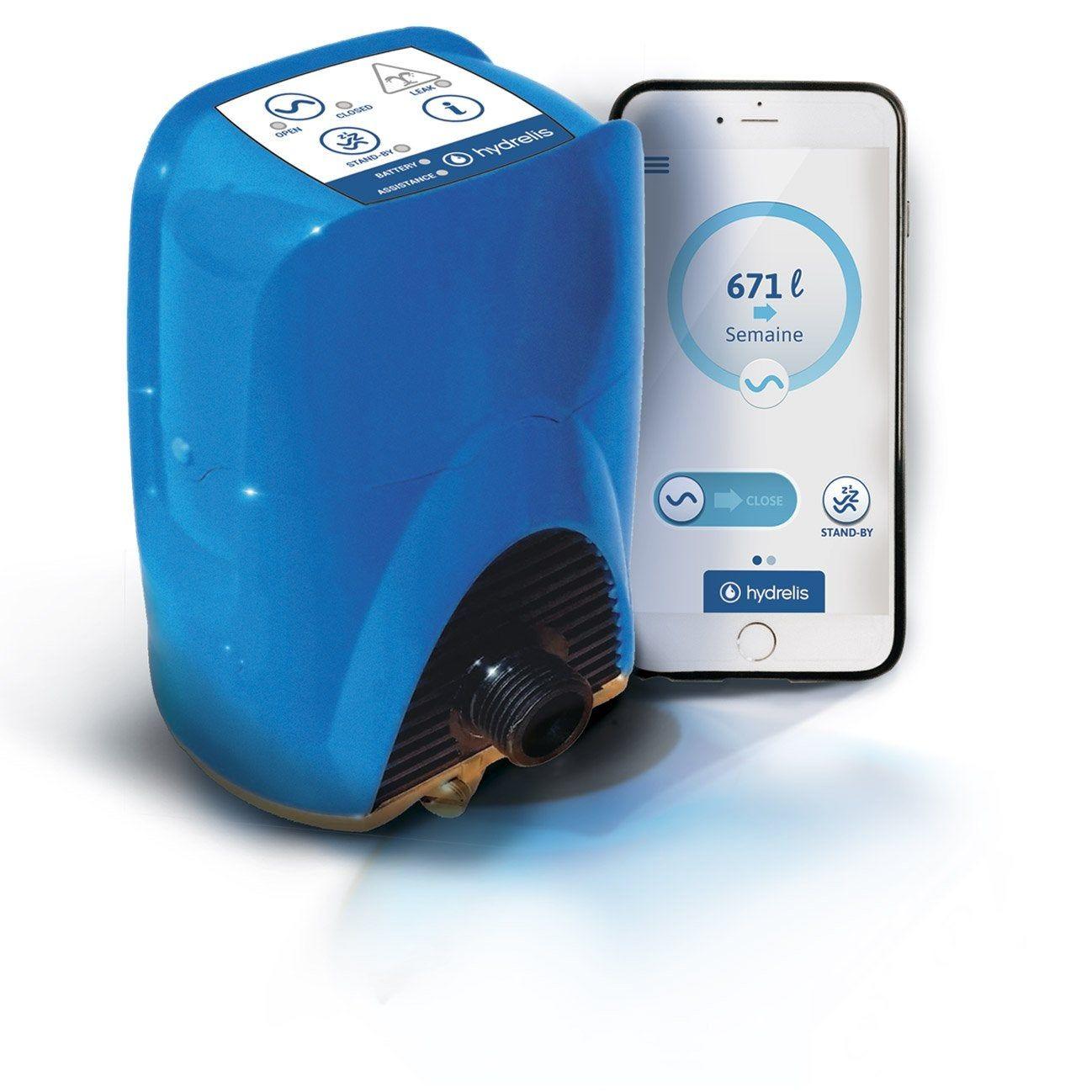 Disjoncteur D Eau Connecte Hydrelis Stop Flow 20x27mm Eau Et Produits
