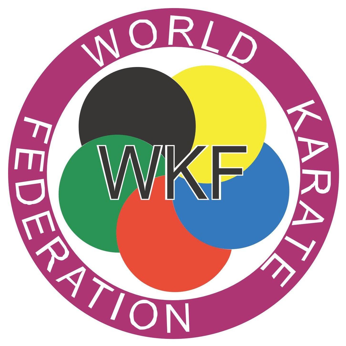 WKF – World Karate Federation Logo [EPS File] - ARISF, Association of the IOC Recognised International Sports Federations, eps, eps … | Karate, Logos, Karate school