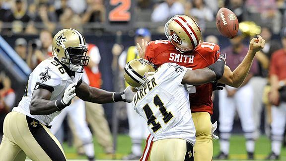 ~ NFC Divisional PLAYOFF ~   Saints(13-3, 5-3 away) against 49ers(13-3, 7-1 home)..