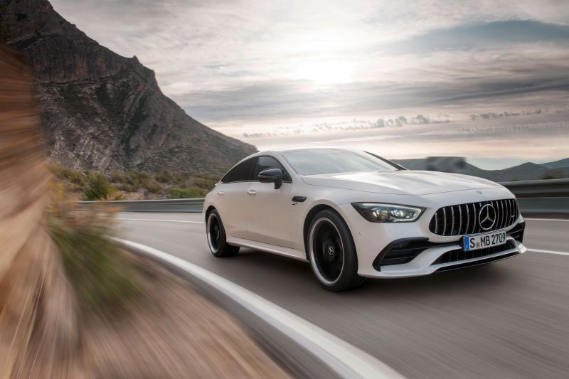 2019 Mercedes Amg Gt 4 Door Is A Family Sedan With 630hp