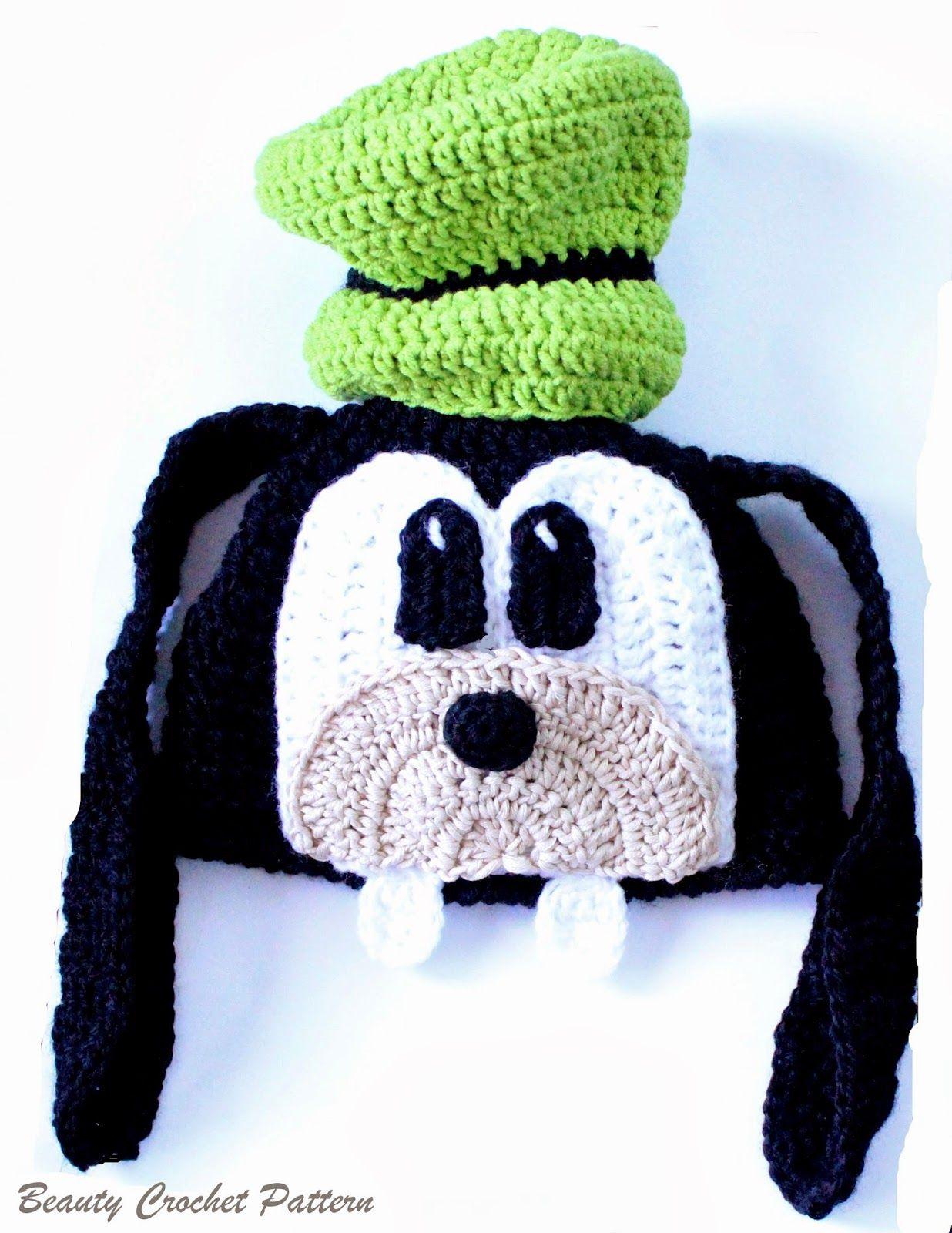 Goofy Crochet Hat | Crochet | Pinterest | Crochet, Patterns and Yarns