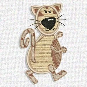 Free Embroidery Design Cat Mach Emb Kids Disney Pinterest