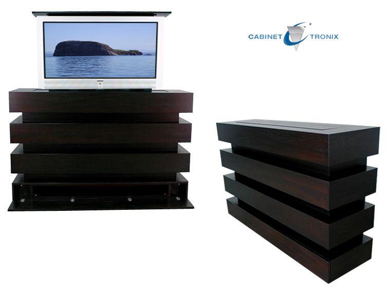 Hidden Tv Stands  Bachelor Pad  Pinterest  Master bedrooms TVs