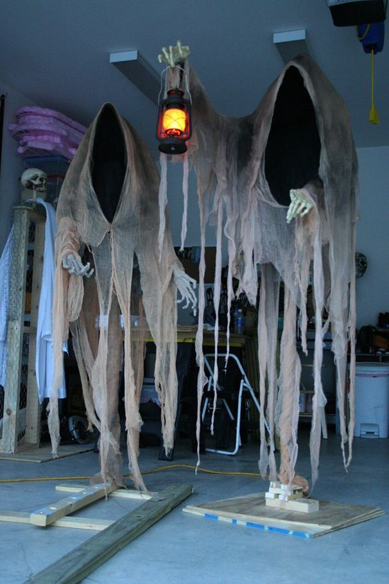 Nice Scary Halloween Decorations Ideas Homemade Part - 5: 23 Halloween Diy Outdoor Decoration Ideas - Feed Inspiration