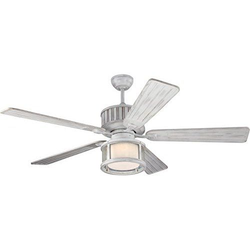 Large Gray Ceiling Fan: Home Decorators Collection 52 In. Indoor/Outdoor Weathered
