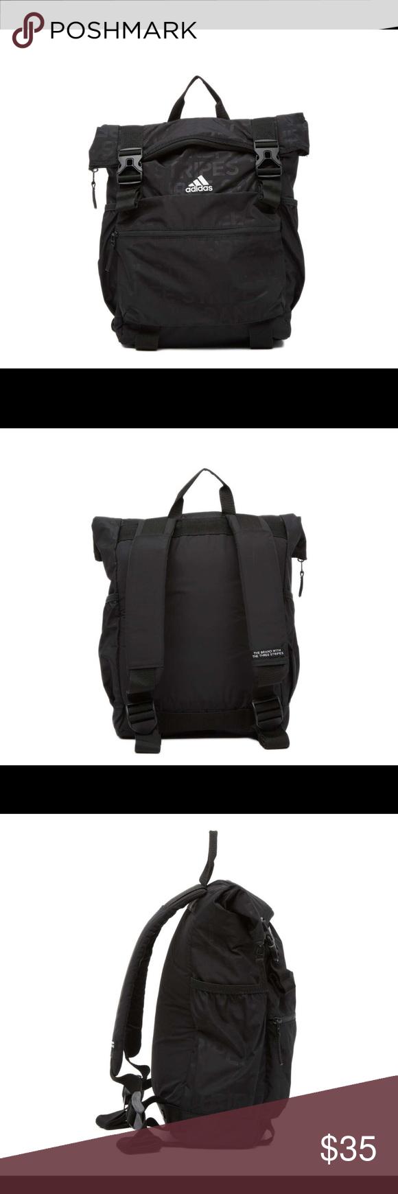 Adidas brand new black Yola backpack NWT Adidas brand new still in package  black Yola backpack f806c077d8