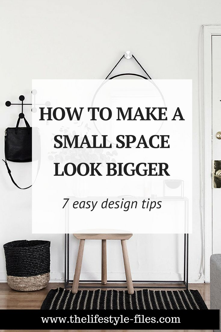 Small space design tips minimalism interior home interiors decoration organizing also minimalist how to make  look bigger the rh pinterest