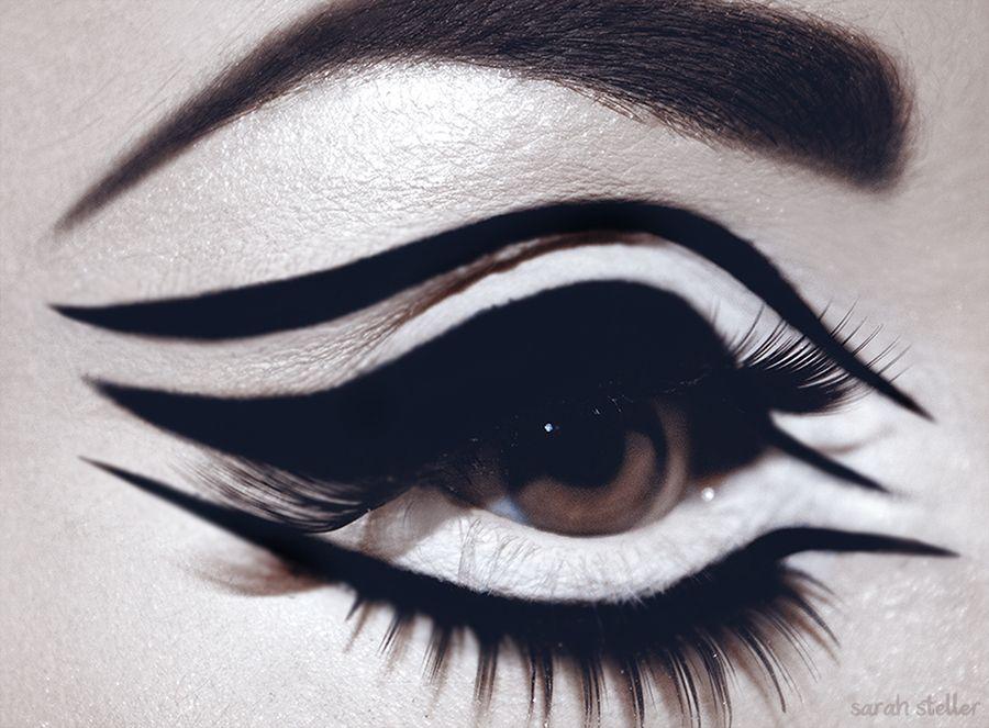Liquid Eyeliner by Sarah Steller