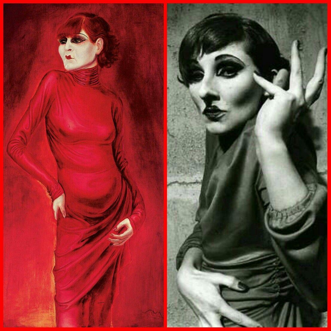 La Ballerina Anita Berber Nel Ritratto A Olio E Tempera Di Otto Dix Del  1925 (